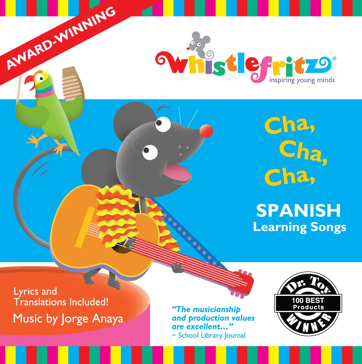 Jorge Anaya - Cha, Cha, Cha -- Spanish Learning Songs Canciones Infantiles  - Amazon.com Music