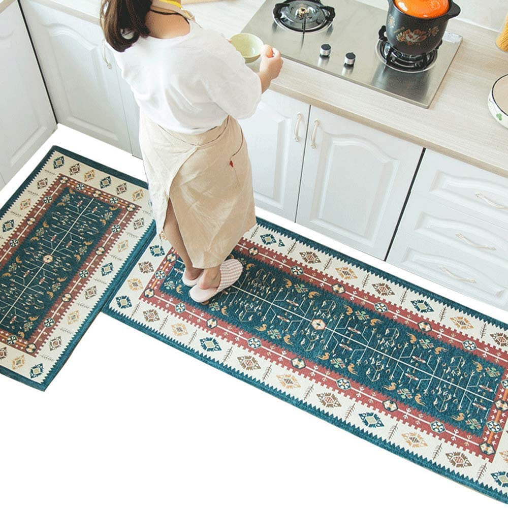 Kitchen Rugs and Mats 2 Pieces