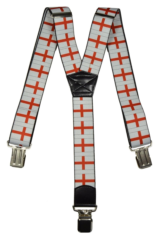 Bretelles entièrement réglable pour tous les âges, Drapeau Royaume-Uni