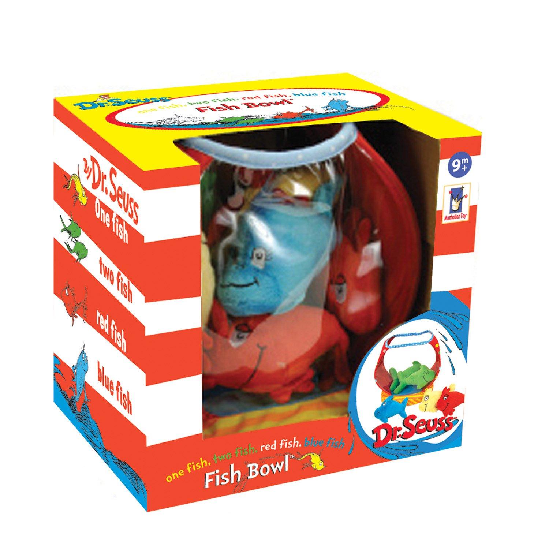 Amazon.com: Manhattan Toy Dr. Seuss One Fish Bowl Baby Activity Toy ...
