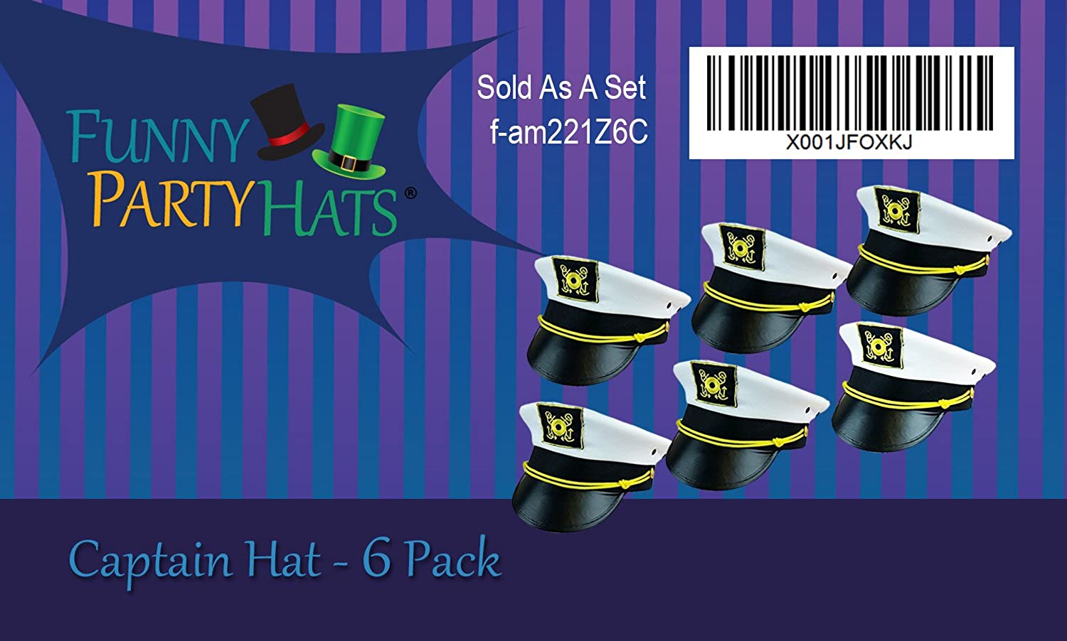 Yacht Captain Hat Sailor Hats for Men Funny Party Hats Captain Hats
