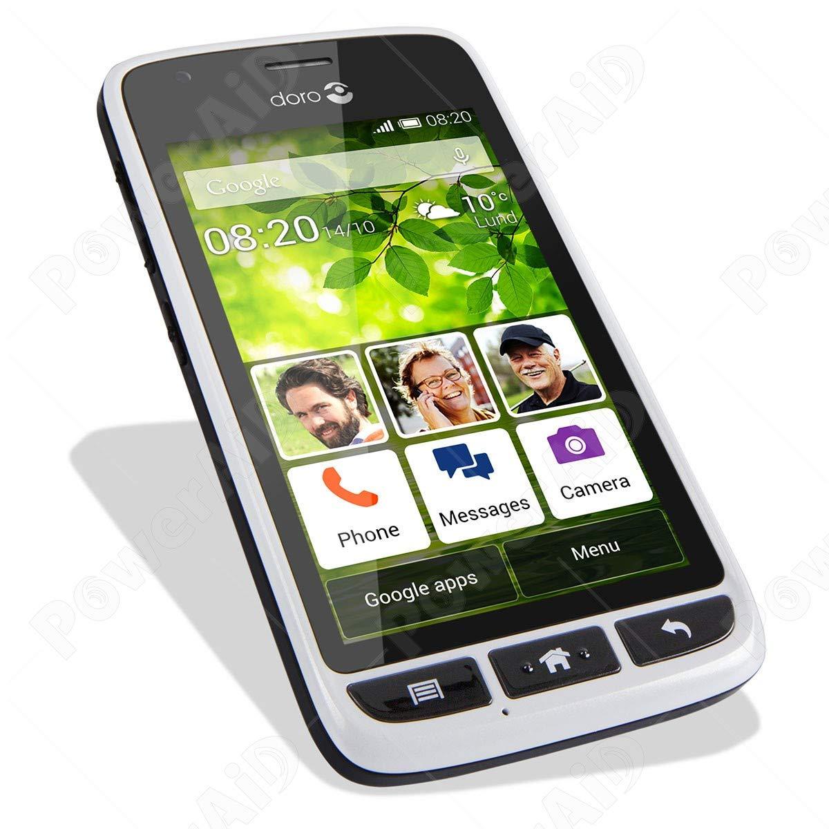 Doro Liberto 820 Mini Blanco/Plata Teléfono Smartphone: Amazon.es ...