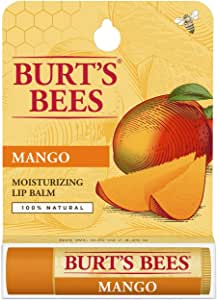 Burt's Bees Mango Lip Balm Tube - Hang Sell Blister, 4.25g
