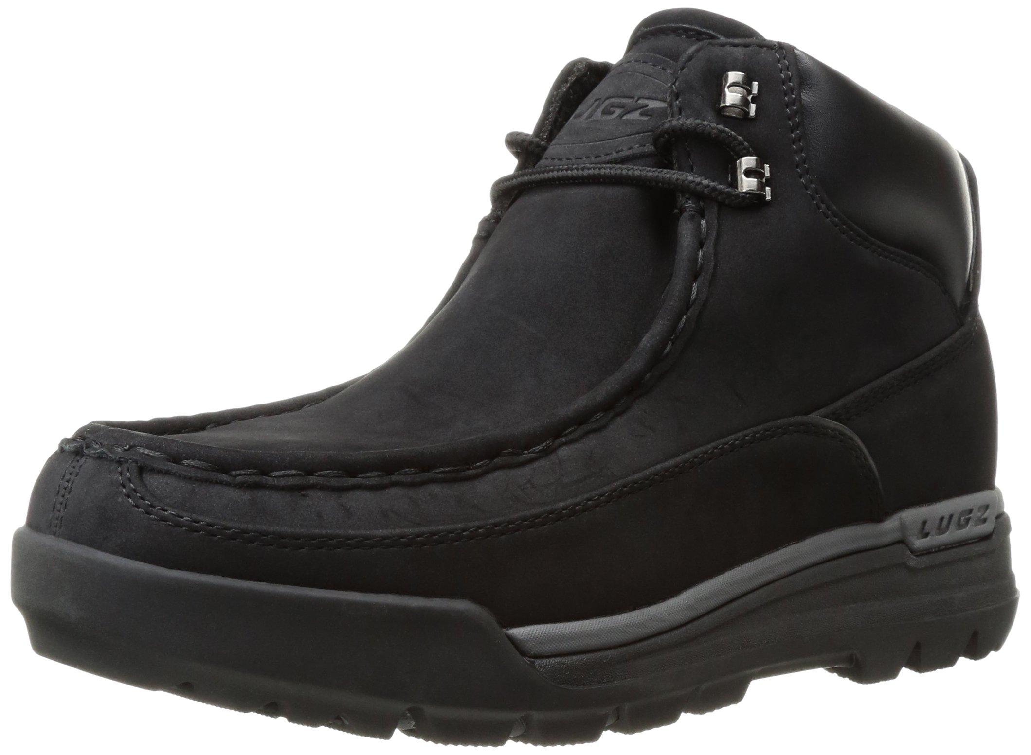 Lugz Men's Breech Chukka Boot, Black/Charcoal, 7 D US