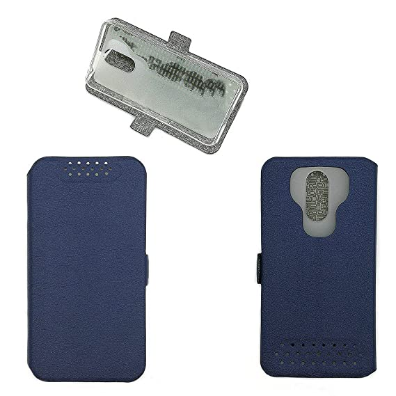 separation shoes 874f3 0a39c Amazon.com: Case for Alcatel 3 5052Y Case Cover Blue: Cell Phones ...