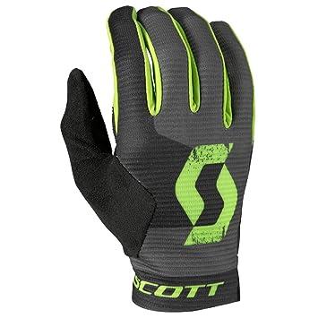 1ca1bd89b4c370 Scott Ridance Fahrrad Handschuhe lang schwarz/grün 2018: Amazon.de ...