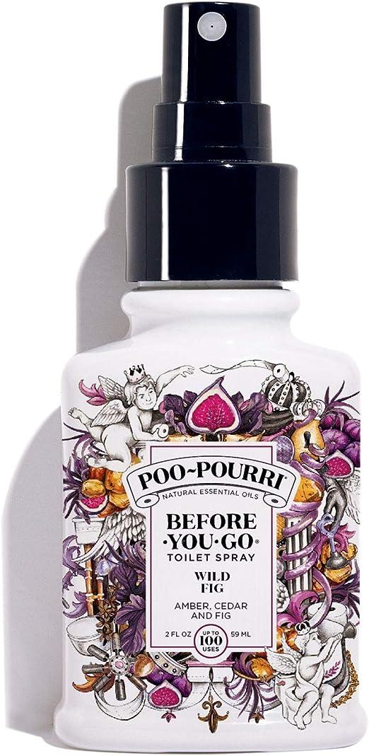 Amazon Com Poo Pourri Before You Go Toilet Spray 2 Fl Oz Wild Fig Scent 2 Fl Oz Home Kitchen