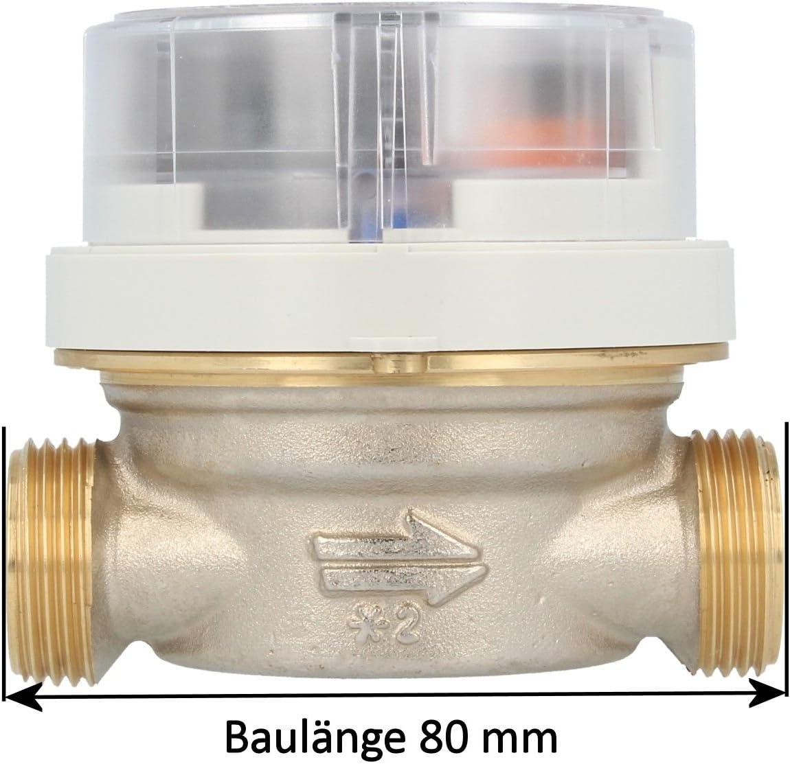 Visto-contadores de agua caliente Allmess 1.27 cm EVW 3/80 V + M ...