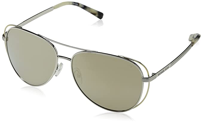 4fc6ec48b Image Unavailable. Image not available for. Color: Michael Kors Womens  Women's Mk1024 58Mm Sunglasses