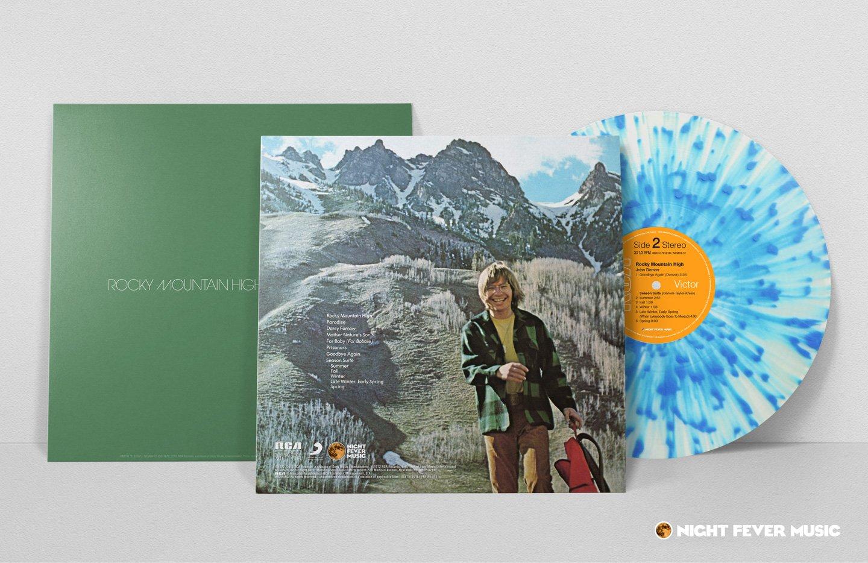 John Denver - Rocky Mountain High (180 Gram Clear-Blue Splatter ...
