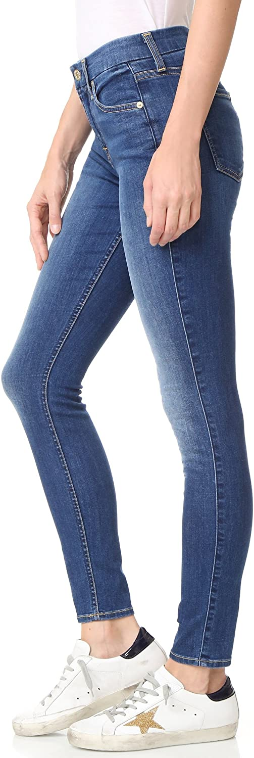 7 For All Mankind Womens b Ankle Skinny Jeans air