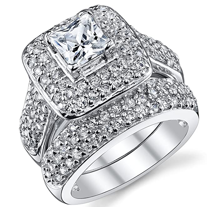 silver big wedding rings - Big Wedding Ring