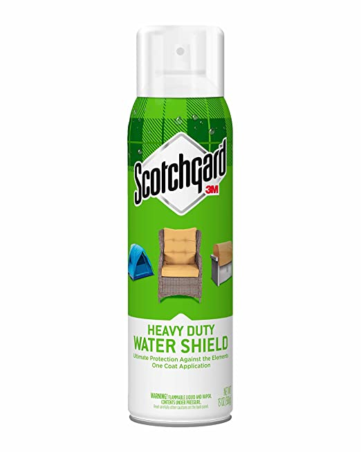 Scotchgard Heavy Duty Water Shield, 1 Can, 13-Ounce, Waterproof Spray