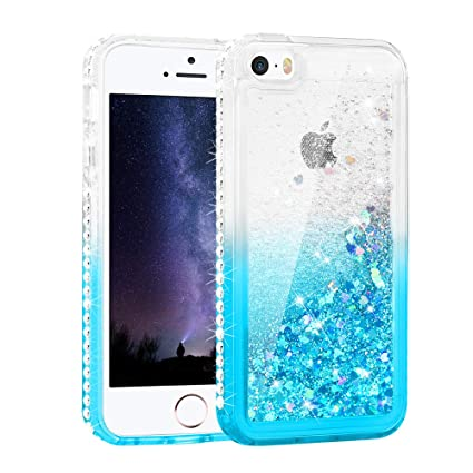 Amazon.com: Maxdara - Carcasa para iPhone SE y 5S, protector ...