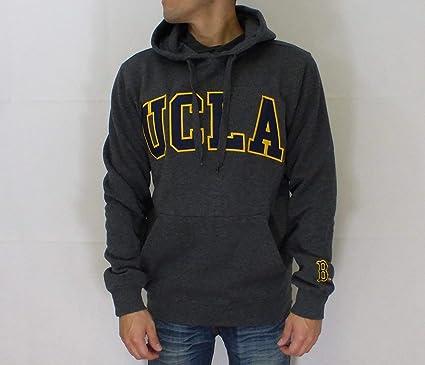 timeless design c3723 c1a67 E5 UCLA Fleece Hoodie Sweatshirt Charcoal Simple UCLA (XXX-Small)
