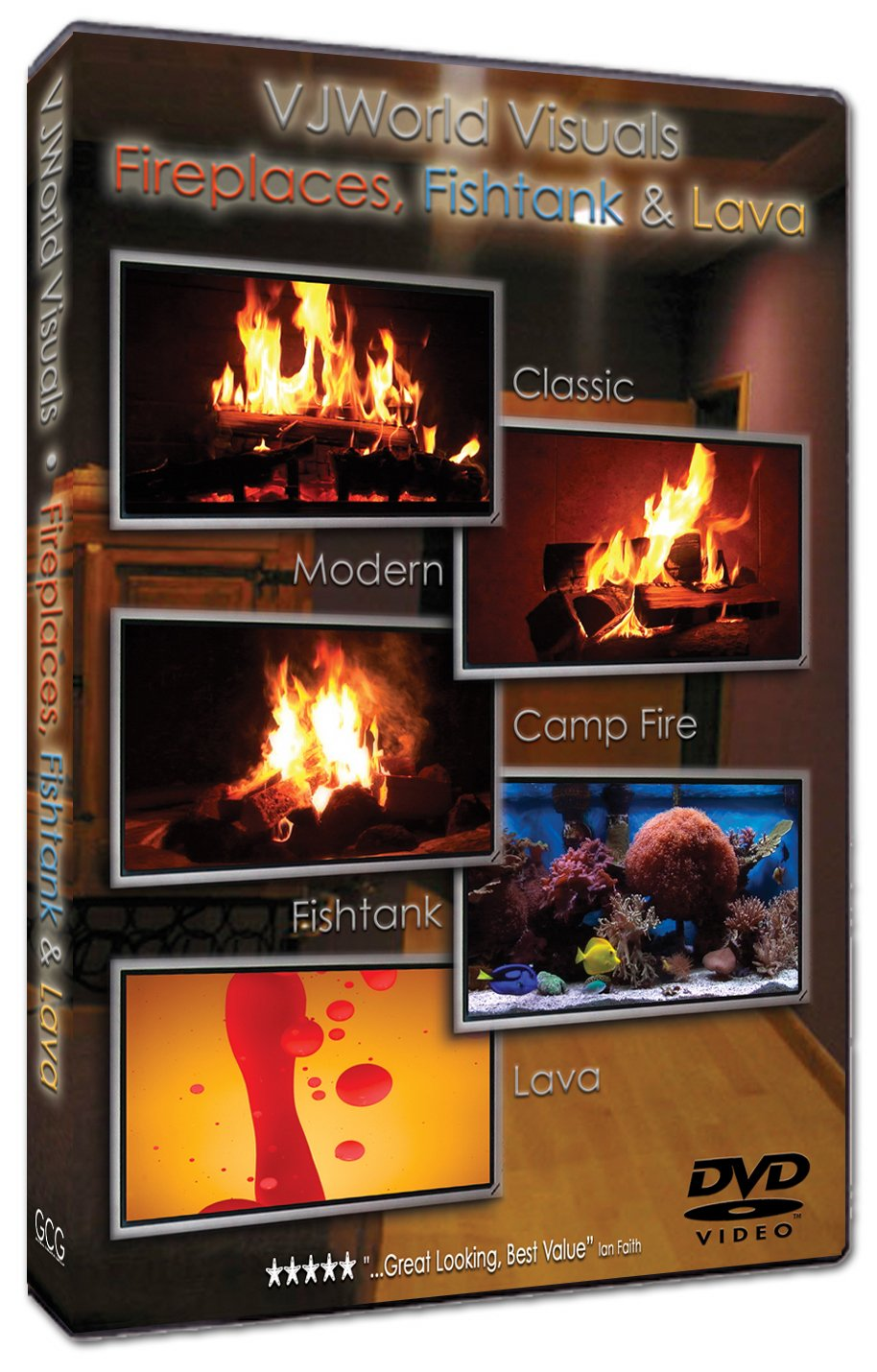 amazon com fireplaces fishtank u0026 lava vjworld visuals