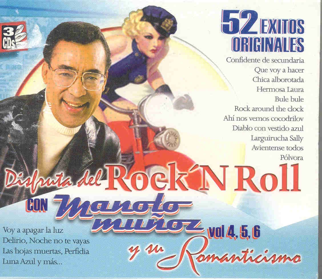 MANOLO MUNOZ - 52 EXITOS ROCK AND ROLL Y SU ROMANTICISMO - Amazon.com Music