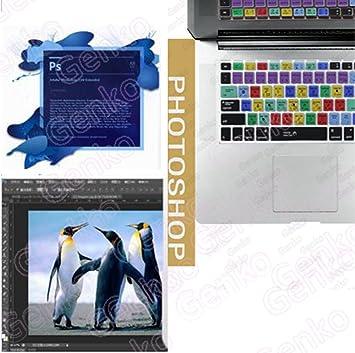 Adobe Photoshop PS Tecla de acceso directo piel IMAC teclado, US ...