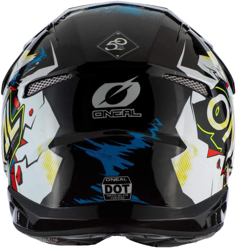 Gr/ö/ße ONEAL 3 Series Villain 2.0 Motocross Enduro MTB Helm schwarz//gelb 2020 Oneal 53-54cm XS