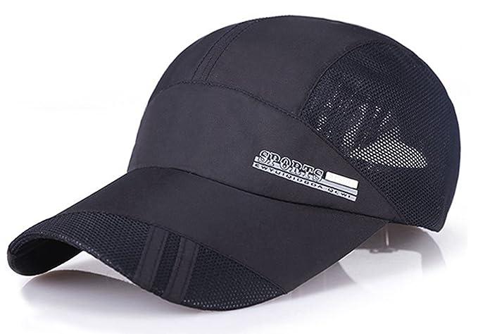 208c70ae4fd Summer Baseball Cap Quick Dry Mesh Back Cooling Sun Hats Flexfit Sports Caps  for Golf Cycling
