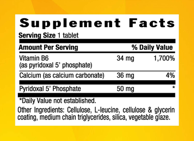Country Life - P-5-P (Pyridoxal Phosphate) 50 mg - 100 Tablets