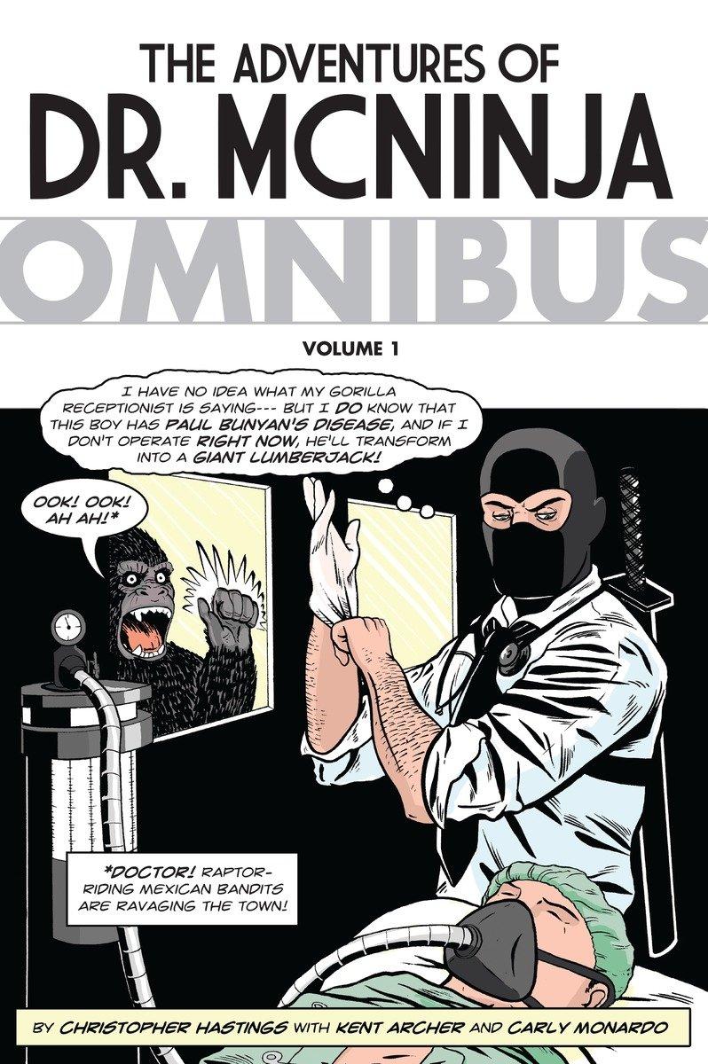 Adventures of Dr. McNinja Omnibus (The Adventures of Dr. Mcninja) by Dark Horse Comics