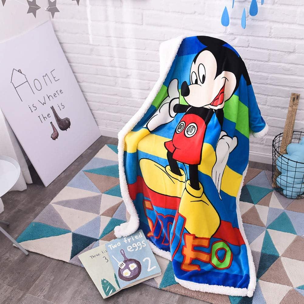 ClothHouse Manta De Moda De Dibujos Animados Manta De Cachemira Manta De Bebé Manta De Aire Acondicionado Manta Engrosada para Mascotas 100 * 140 Cm