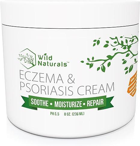 Amazon Com Wild Naturals Eczema Psoriasis Cream For Dry