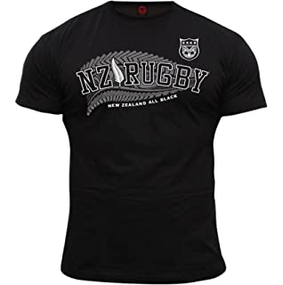 Dirty Ray Rugby New Zealand All Black Camiseta Hombre KRB3: Amazon.es: Ropa y accesorios