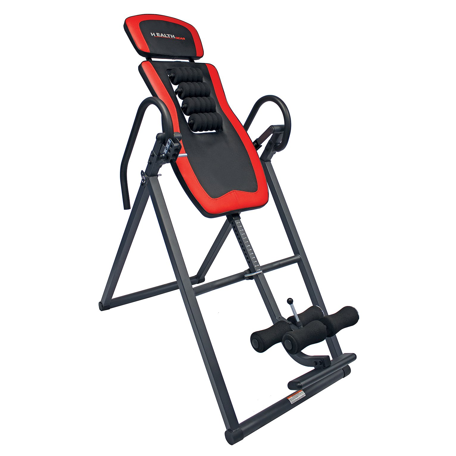 Health Gear ITR3.0-R Patented Roller Massage Inversion Table