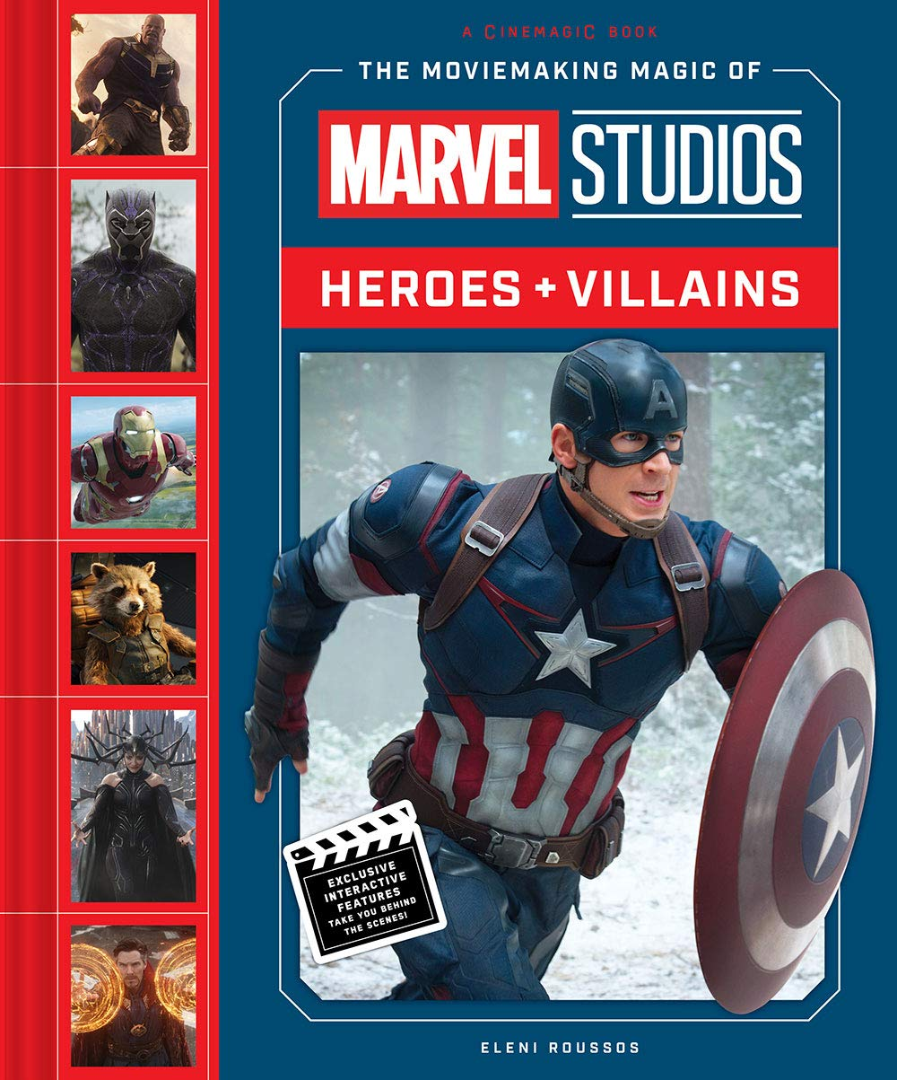 The Moviemaking Magic of Marvel Studios - Cover