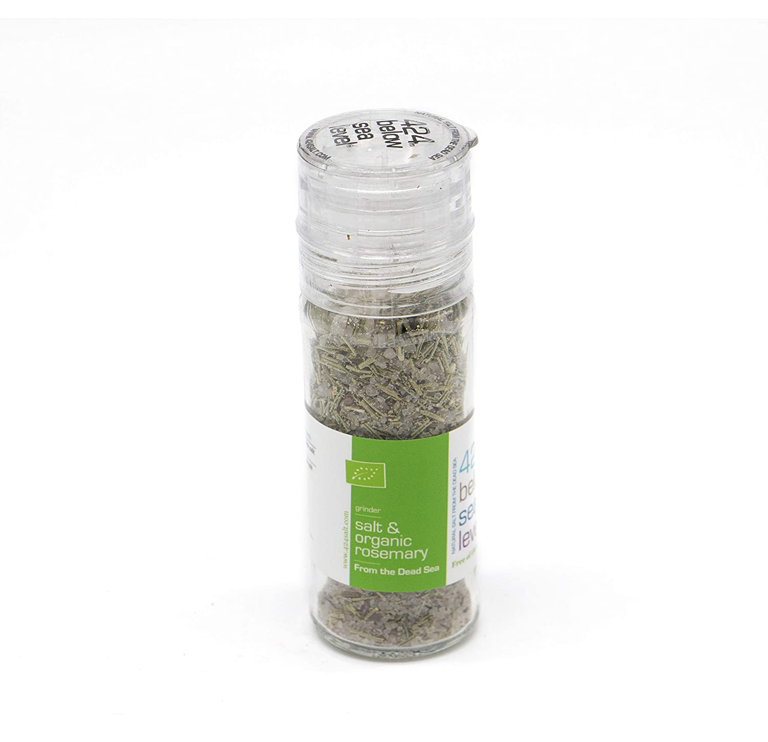 Salt & Organic Rosmary Gourmet Salt From The Dead Sea 3.87oz / 110 grams
