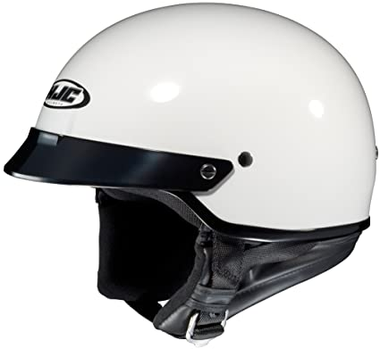 2dded400 Image Unavailable. Image not available for. Color: HJC CS-2M Half Helmet  Medium ...