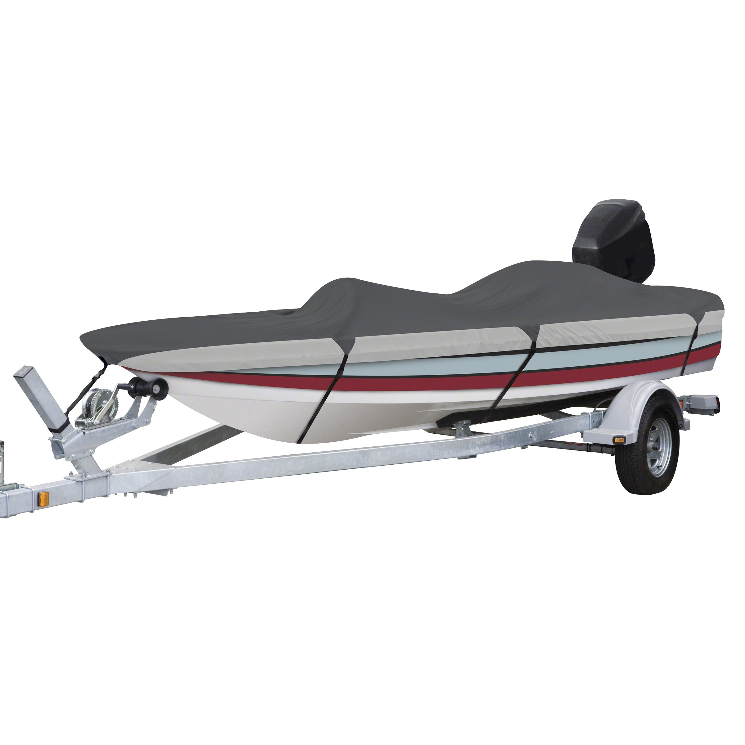 Classic Accessories Orion Heavy Duty Boat Cover For Bass Boats, For 16'-18.5' Long, Up to 98'' Beam Width by Classic Accessories