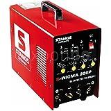 Stamos Germany S-WIGMA 200P WIG MMA Poste à souder portable HF avec fonction Pulse 230 V FM à 60 % max. 200 A 13 kg