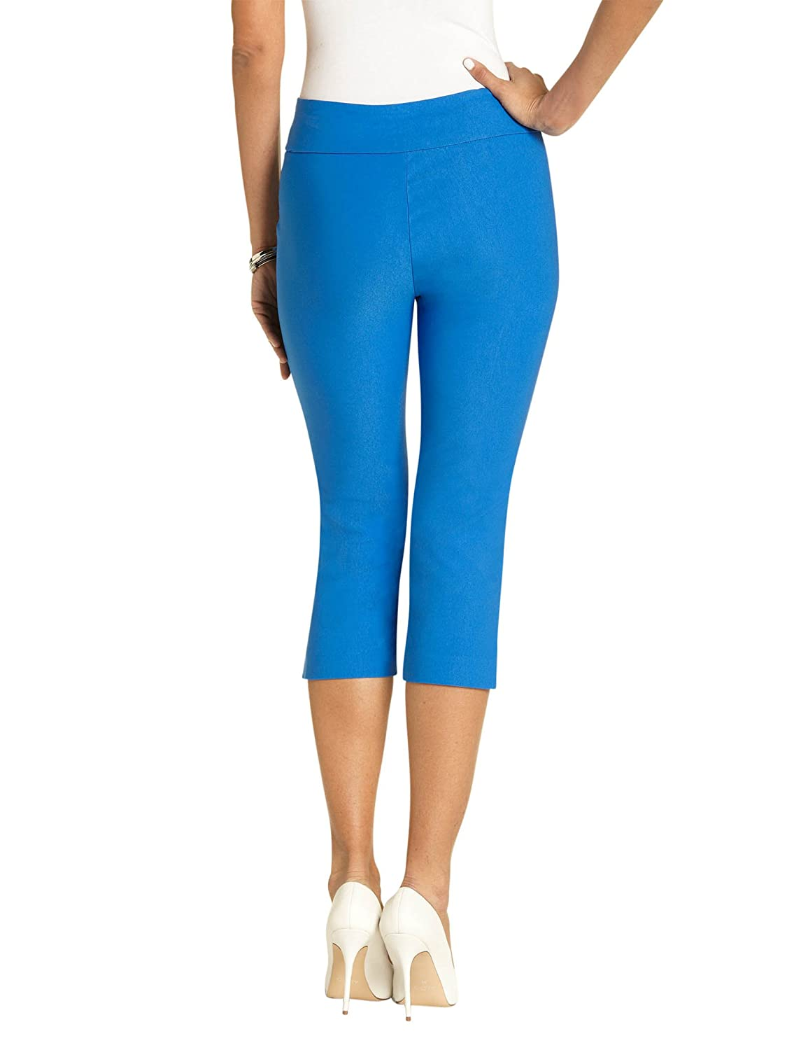 Style#6235 URREBEL UR REBEL UR Rebel Pants for Womens-Simon Chang Microtwill Capri