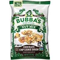 Bubba's Sweet Glazed Keto Nut Mix (Chocolate Chip Cookie Dough 6-pack) | 3g Net Carbs | Gluten Free, High Protein Keto…