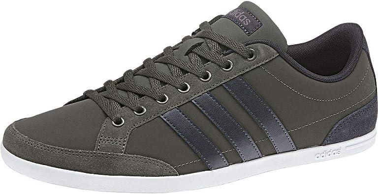 Amazon.com | adidas Men's Caflaire Tennis Shoes, Brown Cinder ...