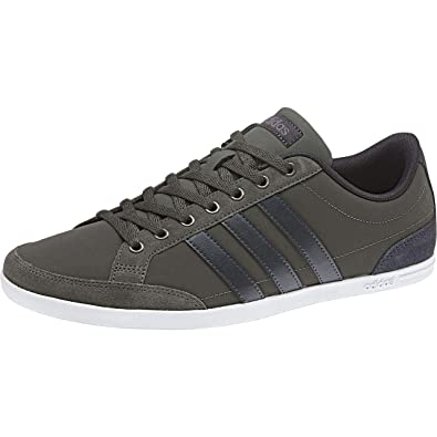 casual shoes running shoes outlet for sale adidas Herren Caflaire Tennisschuhe, Braun Cinder/Carbon ...