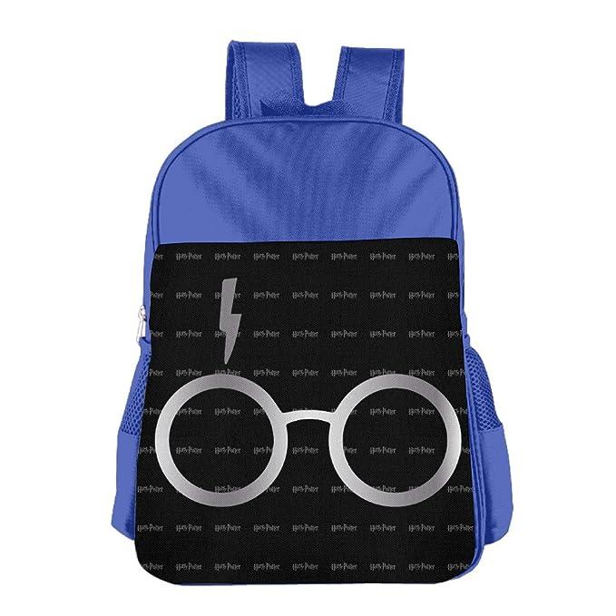 Harry Potter Gafas Platinum estilo escuela mochila Bolsa: Amazon.es: Hogar