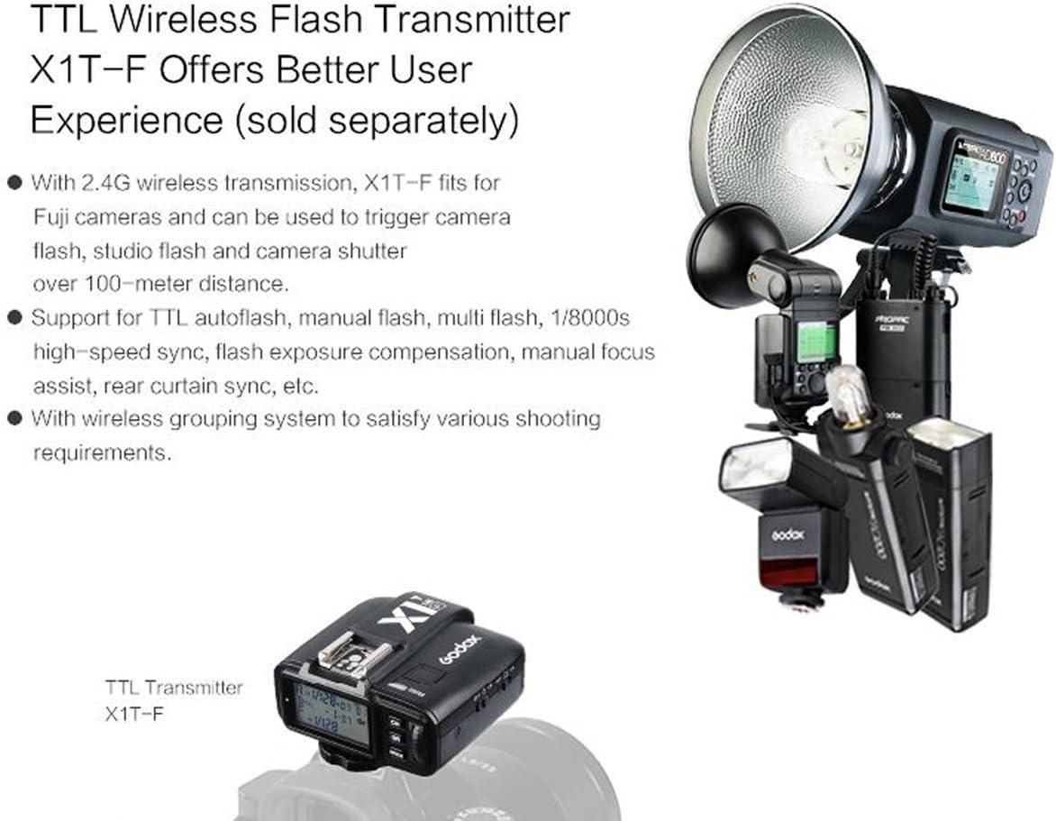 Godox TT350F 2.4G HSS 1//8000s TTL GN36 Camera Flash Speedlite for Fuji Cameras X-Pro2,X-T20,X-T2,X-T1,X-Pro1,X-T10,X-E1,X-A3,X100F,X100T
