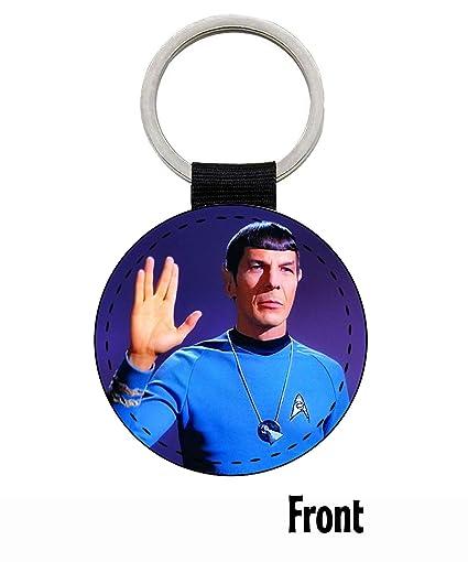 MasTazas Star Trek Leonard Nimoy Spock Llavero Keyring ...
