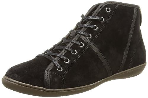 TBSChloee - Zapatos Derby Mujer, Negro (Noir (4754 Noir)), 37