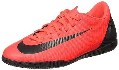 747ed5b0780a Nike Men's Vapor 12 Club Cr7 Ic BRT Crmsn/Blak-Chrome Football Boots-