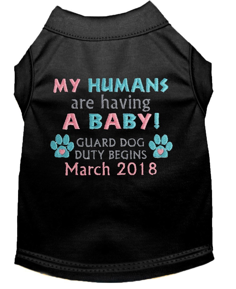 My Humans are having a Baby Dog Shirt Pregnancy Announcement Pet Custom Personalized Pet Clothes