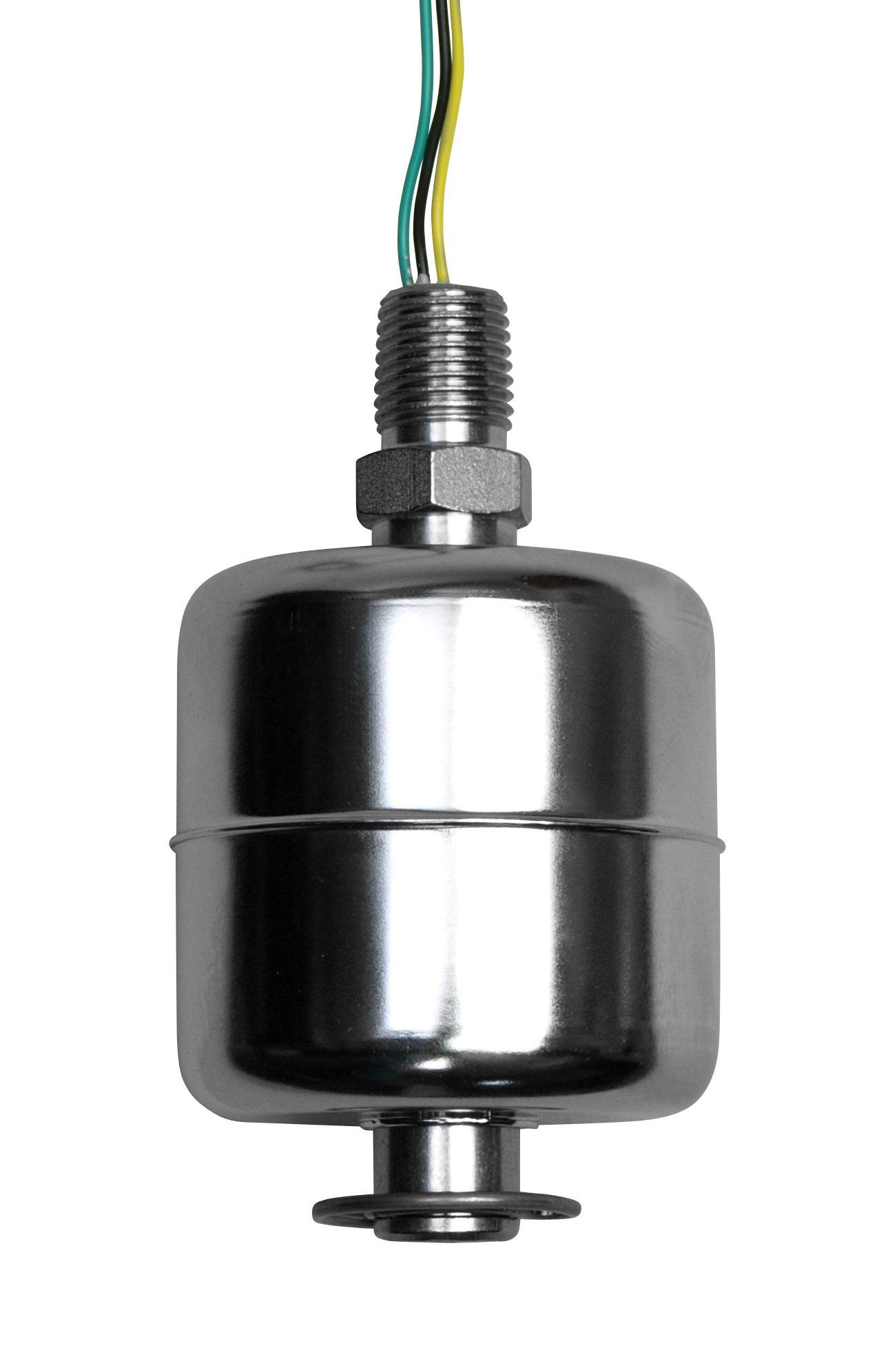 Madison M5600-SPDT Stainless Steel Full Size Liquid Level Switch, 25 VA SPDT, 1/4 NPT Male, 200 psig Pressure