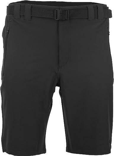 CMP Outdoor Pantalones Hombre Shorts de Exterior Pantalones Cortos y Transpirables Capri Bermudas con cinturón y protección UV para Senderismo ...