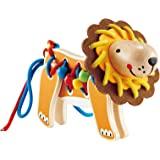 Hape Wooden Lion Toddler Lacing Toy