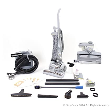GV El aspirador con herramientas, champú, cepillo turbo, bolsas y g 8 10 piezas