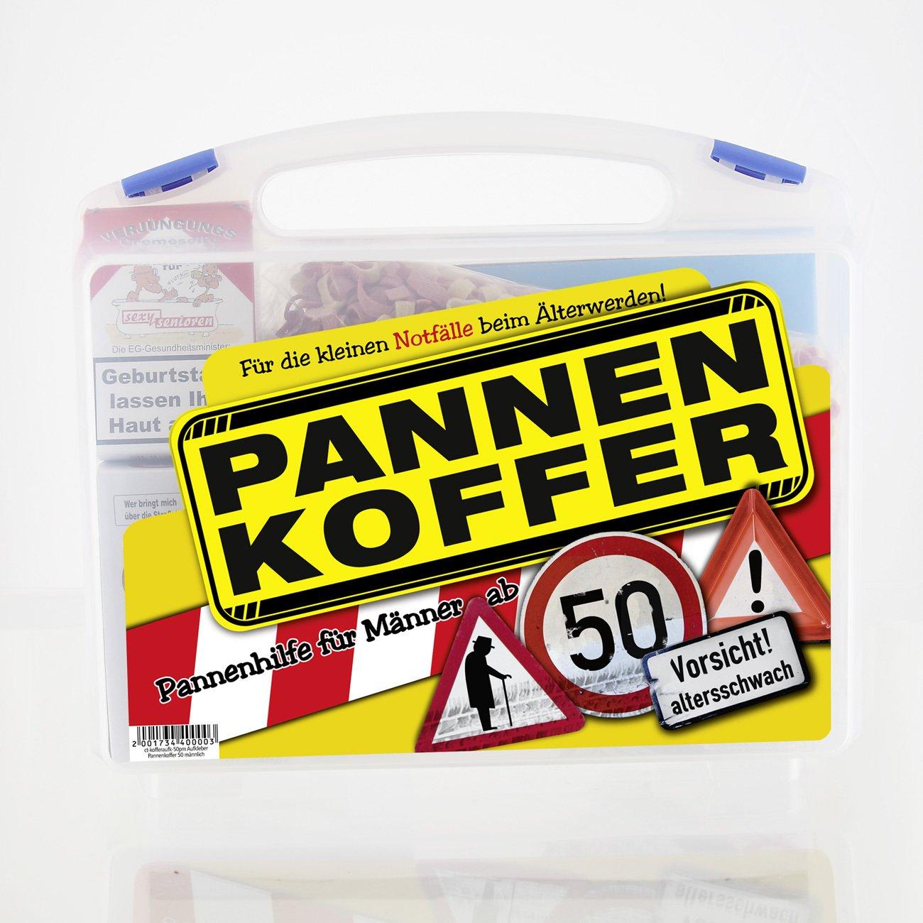 Lustige Apotheke Pannenkoffer für den Mann ab 50 (8 teilig) Lustapotheke®
